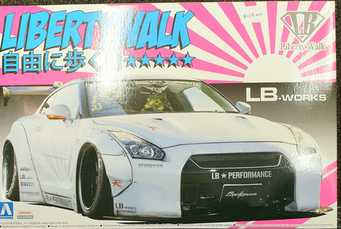 Liberty Walks Nismo Model Kit