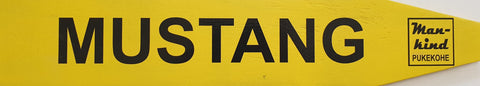 Street Sign 'Mustang'
