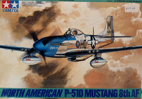 Mustang P51D Plastic Model Kit