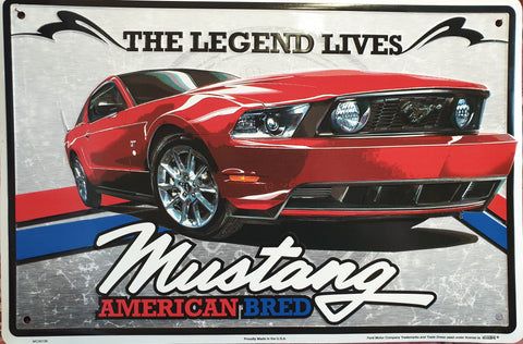 Mustang 'The Legend Lives'