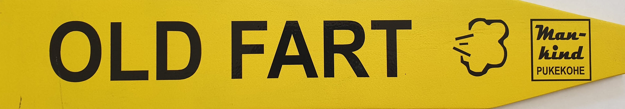 Street Sign 'Old Fart'
