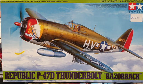 Razorback Thunderbolt Plastic Model Kit