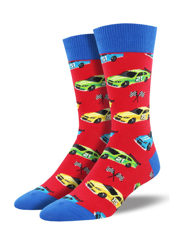 Racing Car Socks