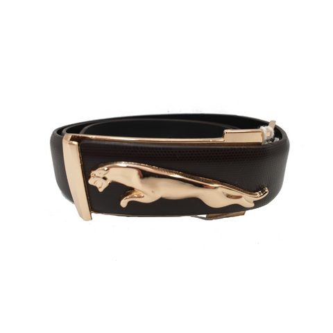 Rose Gold Jaguar Mens Belt
