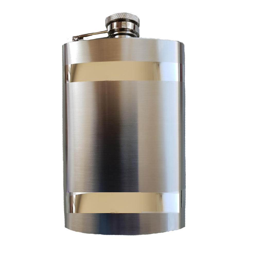 Stainless 8oz Hip Flask