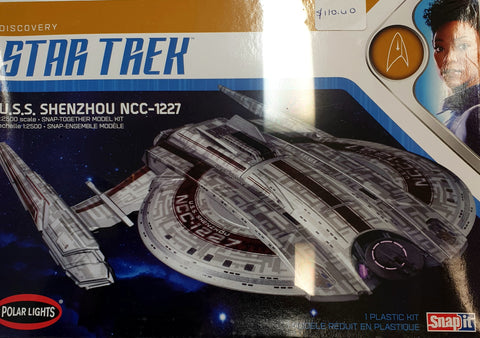 Star Trek Shenzhou  Model Kit