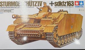 Sturmgeshultz IV Tank Model Kit