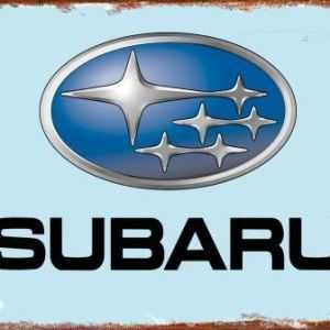 Subaru Tin Sign