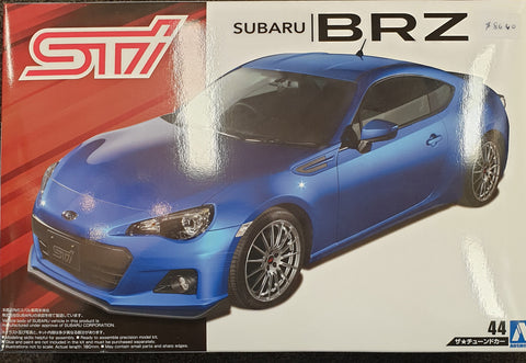Subaru STI BRZ Model Kit