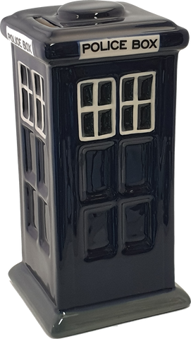 Police Box (Tardis) Moneybox