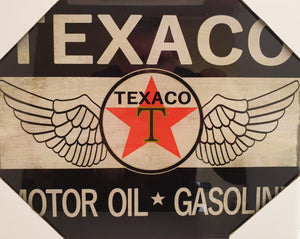 Texaco Oil Sign