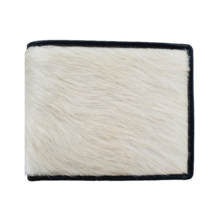 The Cowhide Wallet Black