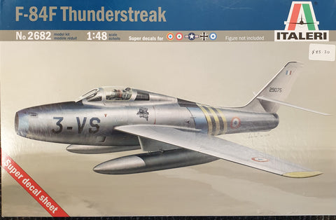 F84F Thunderstreak Aircraft Model Kit