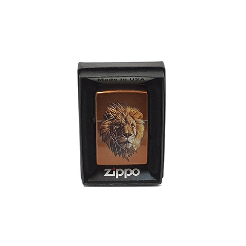 Toffee Lion Zippo Lighter