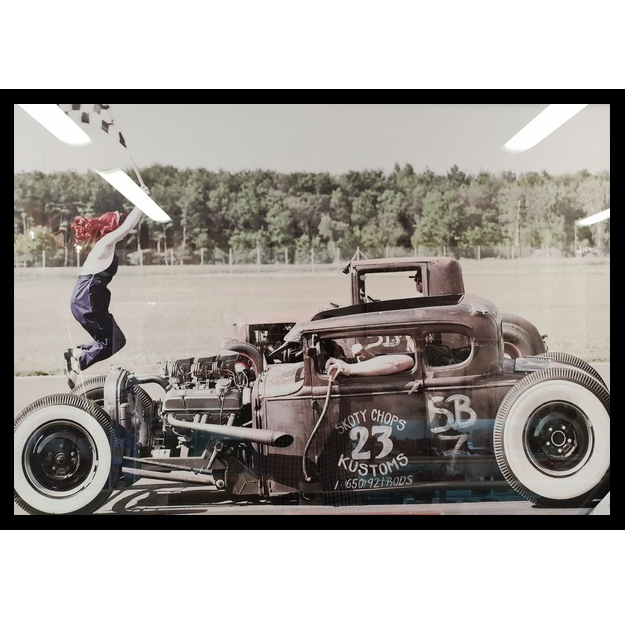 Vintage Dragracers in Action