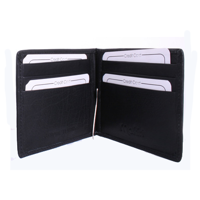 Avenue Brown Wallet with Money Clip