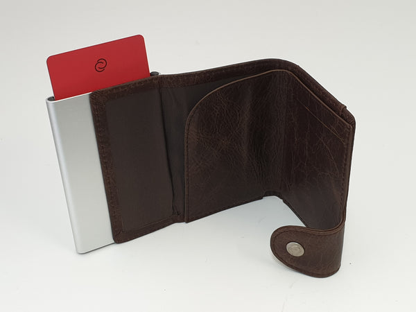 C-Secure Cognac Wallet and Cardholder