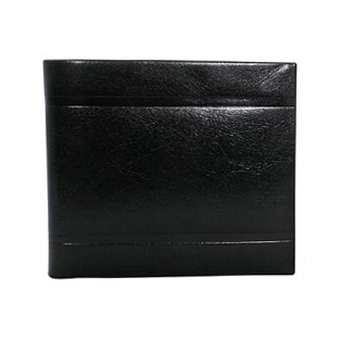Black Leather Wallet La Normale 2 'Eminent'