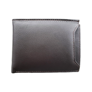 Avenue Duo Leather Wallet Brown