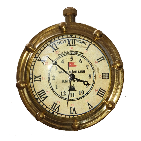White Star Line Miniature Captains Clock