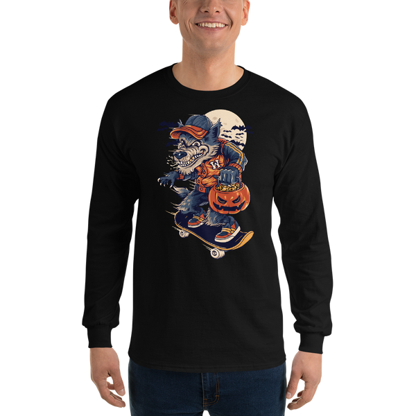 Wolf man Long Sleeve T-Shirt