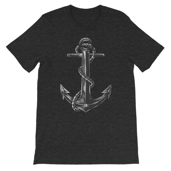 Hand Drawn Of Ship Anchor