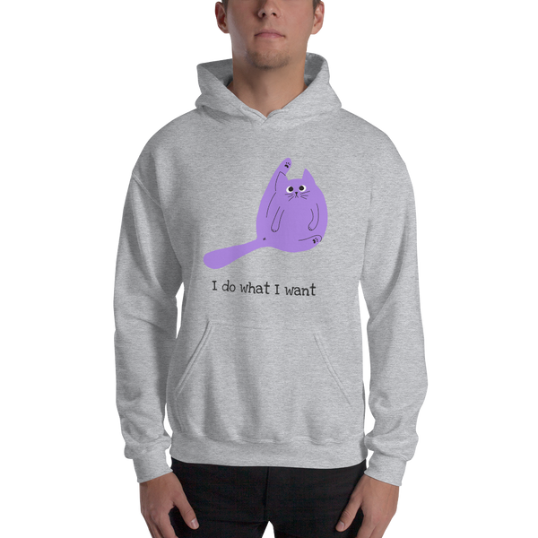 I do what i want premium Unisex Hoodie
