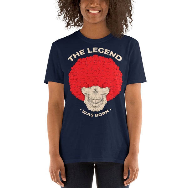 The legend was born premium Unisex T-Shirt
