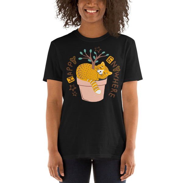 Happy Cat premium Unisex T-Shirt