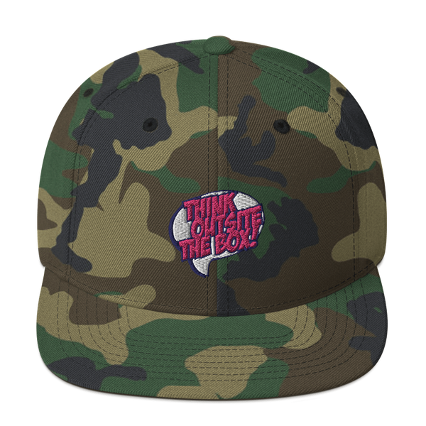 Think outside the box Snapback Hat