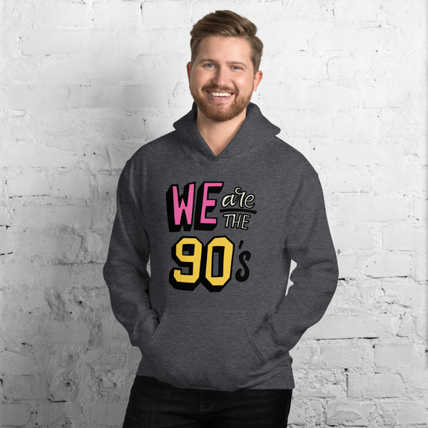 We are the 90s premium Unisex Hoodie