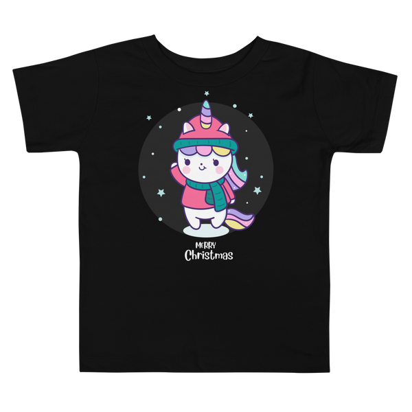 Merry Christmas Toddler Short Sleeve Tee