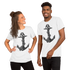 "Hand Drawn Of Ship Anchor  ""Unisex T-Shirt"""