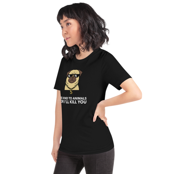 Be Kind To Animals Premium Unisex T-Shirt