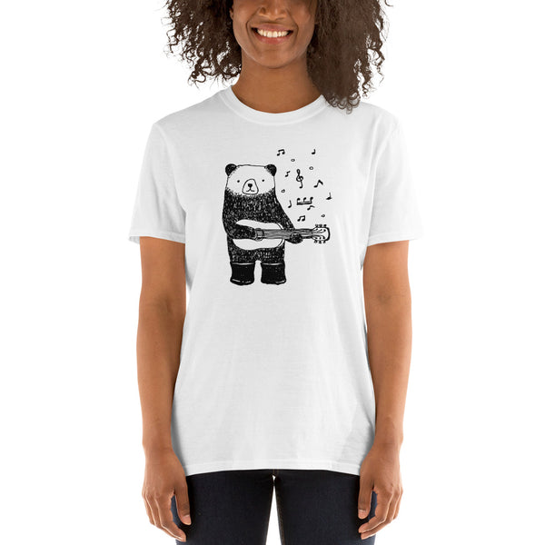 Panda Guitar player premium Unisex T-Shirt