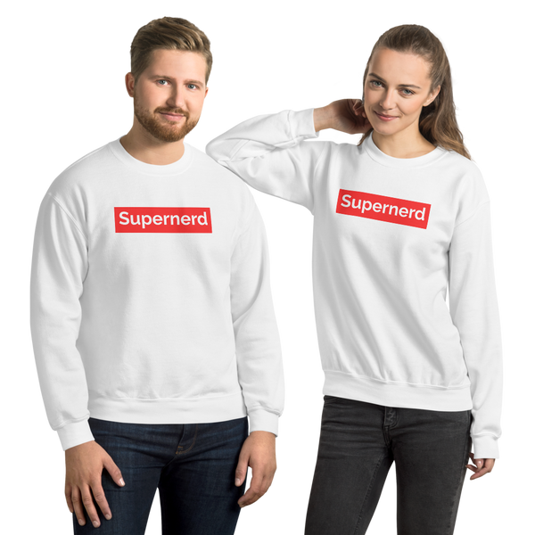 Supernerd premium Unisex Sweatshirt