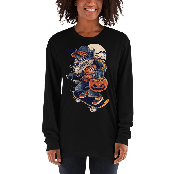 Wolf Man Premium Long sleeve t-shirt