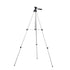 1.5m 3 Sections Aluminum Alloy Tripod Phone Holder With Phone Clip For iPhone Samsung
