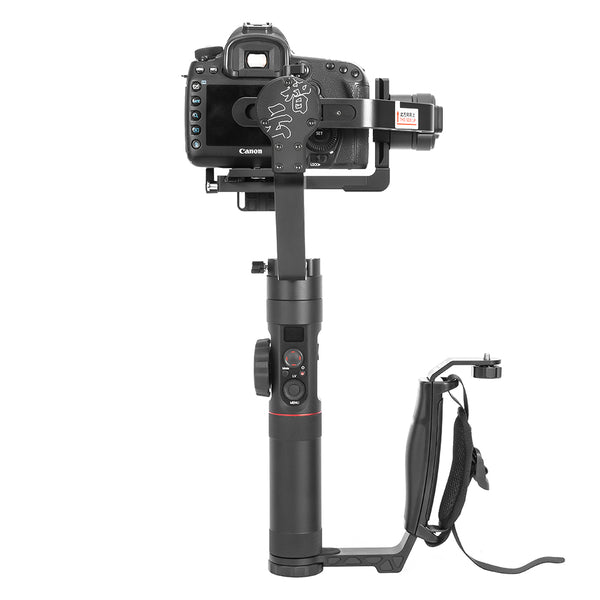 Zhiyun Transmount Dual Grip L Bracket for Mounting LED Light Microphone Monitor for Zhiyun Crane Series Gimbal
