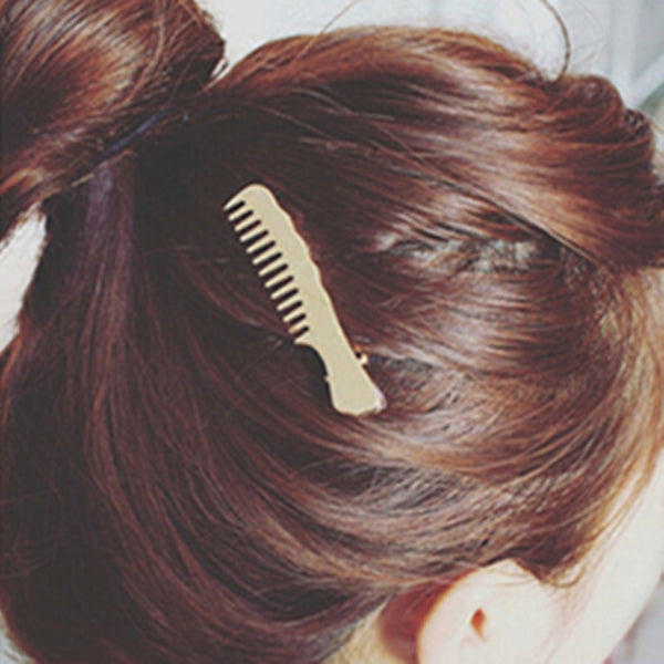 10pcs Comb Shape Alloy Hair Accessories for Women Girls 1#