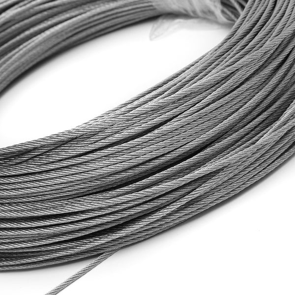 1.5mm Stainless Steel Wire Rope Tensile Diameter Structure Cable  20m