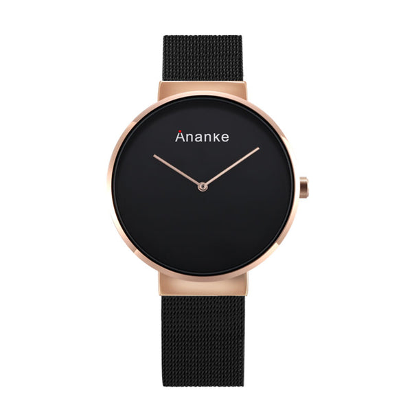 Ananke Casual Style Stainless Steel Strap Men Quartz Watch NO.3