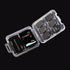 50pcs Memory Card Storage Box Case Organizer for SD Card TF Card Memory Stick