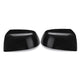 Black Car Mirror Cover Driver Passenger Side Replacement For Ford Focus 05-08  Right