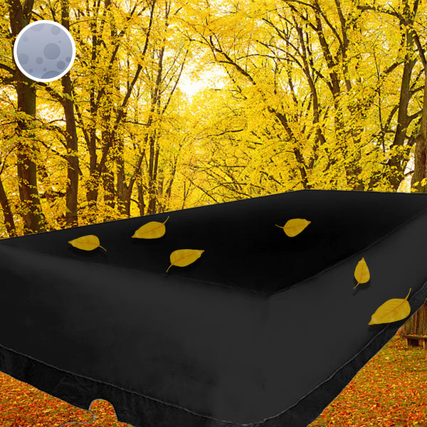 12 seater Furniture Cover Waterproof Outdoor Garden Table Polyester Rectangular Protective Dust Proof Cover 350 x 260 x 90cm