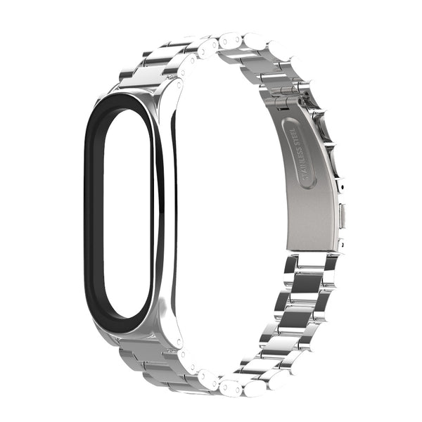 Bakeey Stainless Steel Watch Band Replacement Watch Strap for Xiaomi mi band 5 Smart Watch
