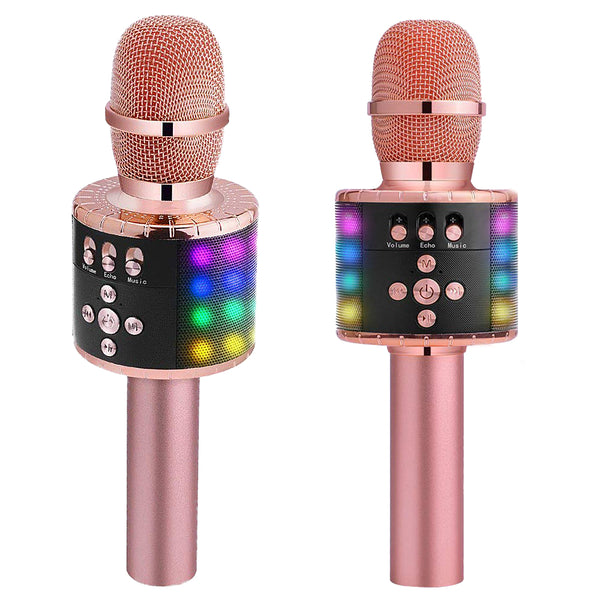 Professional bluetooth Wireless Handheld Microphone Speaker KTV Karaoke Mic Music Player Singing Recorder