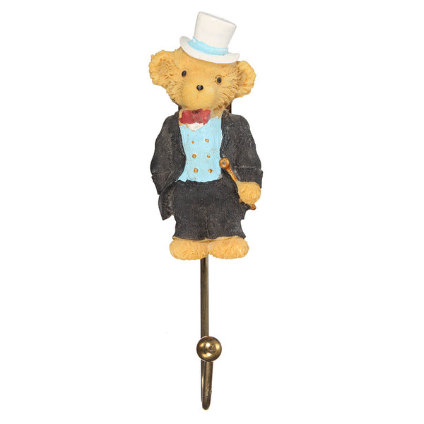 Fairy Tale Bear Jewelry Clothes Wall Hook Home Decoration For Bag Key 6