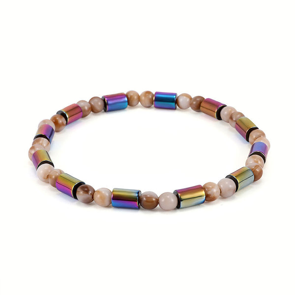 Unisex Classic Colorful Beaded Ankle Bracelets Creative Gift Colorful