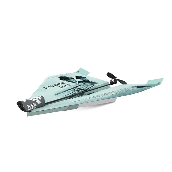 ZT Model Flyer 165mm Wingspan DIY Electric Paper Airplane RC Airplane RTF for Traniner Beginner Wright Version